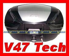 BAULE VALIGIA GIVI V47 NT + ALLUMINIO  MONOKEY BAULETTO  BAGS V47NT TECH MONOKEY