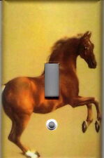 Horse Home Wall Decor Single Light Switch Plate Cover