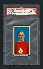 PSA 4 1910 C59 LaCROSSE CARD #80 L. FINET