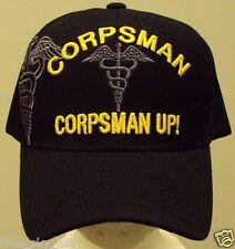 LICENSED MEDIC DOC US NAVY NAVAL USN MARINE CORPS USMC CORPSMAN UP CAP HAT COVER