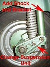 Vespa Allstate Front Shock Bracket 125 cc 125cc all state Sears