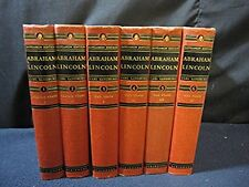 ABRAHAM LINCOLN THE SAGAMON EDITION (In 6 volumes) 1940's