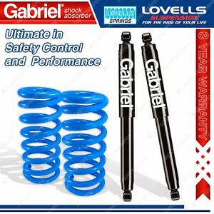 Front Super Low Gabriel Ultra Shocks Lovells Springs For Ford Falcon XK XL XM XP