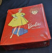 Vintage 1963 Mattel Barbie Doll Case 2 Dolls And Clothes Included Fashion