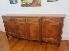 Antique unusual french sideboard buffet