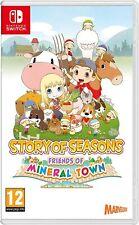 Story Of Seasons Friends Of Mineral Town  Switch Pal España Nuevo Precintado