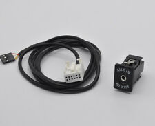 AUX auxiliary cable socket For BMW E39 E53 X5 E60 E61 E63 E64 E85 Z4 E83 X3 MIni