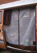 German Quality T25 Side Sliding Door Mosquito Net Middle Zip Brown C9079B