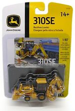 2017 ERTL 1:87 HO SCALE *JOHN DEERE* Model 310SE Backhoe Loader HIGH DETAIL NIP!