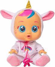 Babypuppe Cry Babies Spiele Fantasy Dreamy Einhorn interaktive Puppe 30cm B-WARE