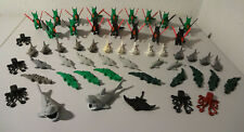 (A 8) Lego Animals Dragons Sharks Crocodiles Knight Pirates 6076 6286 Used
