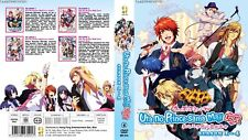 ANIME DVD~Uta No Prince-Sama Maji Love Season 1-4(1-52End)English sub+FREE GIFT