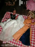 Alte Puppe Barbie
