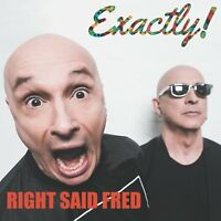 RIGHT SAID FRED Exactly! UK (2017) vinyl LP album NEW/SEALED