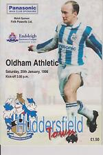 HUDDERSFIELD TOWN v OLDHAM ATHLETIC 95-96 LEAGUE MATCH