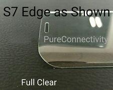 Samsung Galaxy S7 Edge De Vidrio Templado 3D claro Protector de pantalla de vidrio templado con una