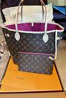 Brand New Louis Vuitton Neverfull MM Monogram Canvas, Peony Pink, RARE!!! M41178