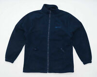 Alexandra Mens Size M Fleece Blue Midweight Jacket