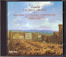 VIVALDI Sacred Music Vol.8 ROBERT KING'S CONSORT CD Laudate pueri Salve Regina