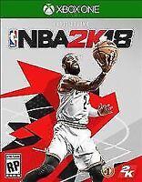 NBA 2K18 (Microsoft Xbox One, 2017) Used Disc Only