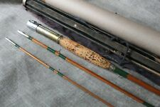 Vintage 9' 3/1 Bamboo Fly Rod, 1930's Usa.