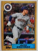 2017 Topps Continuity Prog Alex Bregman Rookie A87-ABR Silver Pack Refractor