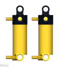 2 Lego Pneumatic CYLINDERS  (technic,air,tank,hose,tubing,piston,valve,switch)