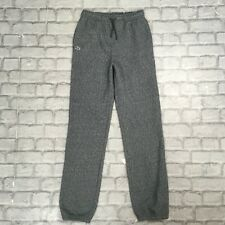 LACOSTE SPORT JUNIOR BOYS 16 YEARS 164CM SPECKLE GREY JOGGING BOTTOMS JOGGERS