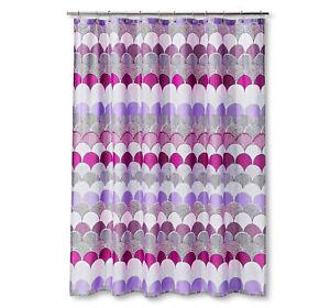 Fabric Shower Curtain Bright Fuchsia Purple Hot Pink Feminine Girls Girl Target
