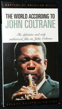THE WORLD ACCORDING TO JOHN COLTRANE - VHS - NM