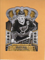 2011 12 CROWN ROYALE # 104 BRETT HULL ST LOUIS BLUES ** FREE SHIPPING **
