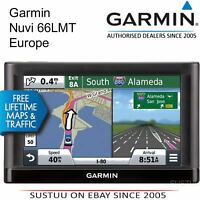 "Garmin Nuvi 66LMT 6"" GPS SATNAV UK & Full Europe Lifetime Map & Traffic Updates"