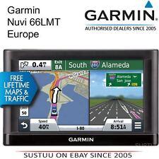 """Garmin Nuvi 66LMT 6"""" Navigatore Satellitare GPS UK & Mappe a vita completa Europe & aggiornamenti del traffico"""