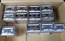 85 Audiokassetten Maxell XLI 90 ° Epitaxial ° Tapedeck ° bespielt MCs Kassette