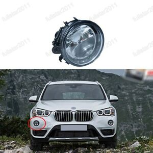 1PC Fog Light Front Bumper Lamp Clear Right 63177238788 For BMW X1 F49 2016-2019