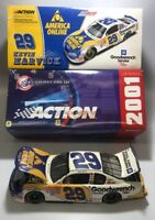 Kevin Harvick #29 2001 GM Goodwrench Service Plus / AOL Monte Carlo 1:24 Scale