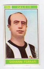 figurina - CAMPIONI DELLO SPORT PANINI 1967/68 - NUMERO 186 CALCIO FERRARI