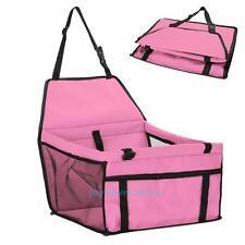 Soft Folding Pet Carrier Car Seat Belt Puppy Dog Cat Comfort Travel Bag Crate