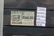FRANCOBOLLI ITALIA REGNO N°A8 USATI STAMPS ITALY USED (F108462)