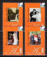 Dutch Antilles / Aruba - 2008 70th birthday Queen Beatrix Mi. 403-06 MNH
