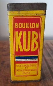 Ancienne Boîte Bouillon KUB Déco Cuisine Vintage