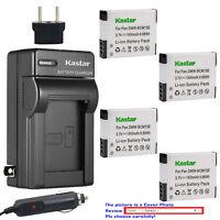 Kastar Battery Travel Charger for Panasonic DMW-BCM13 & Panasonic Lumix DMC-ZS40
