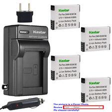 Kastar Battery Travel Charger for Panasonic Lumix DMC-SZ35 ZS40 ZS50 Z60 Z100