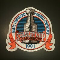 1991 Stanley Cup Finals Jersey Patch Pittsburgh Penguins V Minnesota North Stars