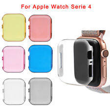 For Apple Watch 4 Series 40/44mm Slim Hard Bumper Frame Protective Case Cover
