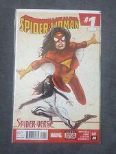 Spiderwoman spiderverse #1 marvel comics silk spider-woman spiderman