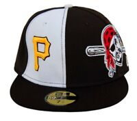MLB Pittsburgh Pirates New Era 59Fifty Pirate Fitted Hat Cap 7 1/2