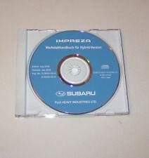 Werkstatthandbuch auf CD Subaru Impreza - Modelljahre 2008 und 2009!