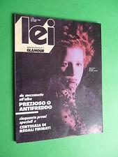 LEI Glamour rivista Dicembre 1983 magazine December n.80