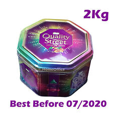 Full Large Tin Of Quality Street Sweets Chocolates 2Kg BB 07/2020